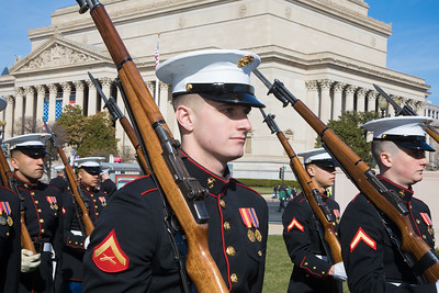 St. Patrick's Parade, U.S. Marines