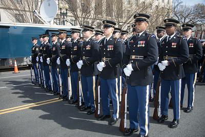 St. Patrick's Parade, U.S. Army