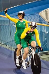 Visually impaired tandem - Australia claim the gold