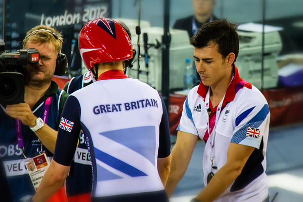 Visually impaired tandem - team GB