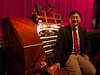 Jerry Nagano and his instrument<br /> Paramount Theater 2013-08-23 at 22-59-23
