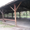 Pavilion eating area