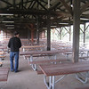 Pavilion eating area