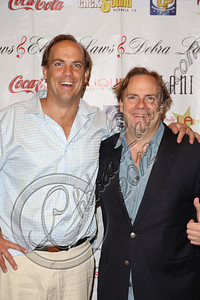 "LOS ANGELES, CA - JULY 29:  Actor John Farley (L) and director Kevin Farley attend the ""Paranormal Movie"" wrap party at The Writer's Room on July 29, 2012 in Los Angeles, California.  (Photo by Chelsea Lauren/WireImage)"