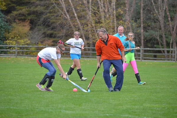 Parents vs V Girls Field Hockey