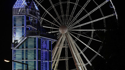 Big wheel at Parish Fair Nuremberg