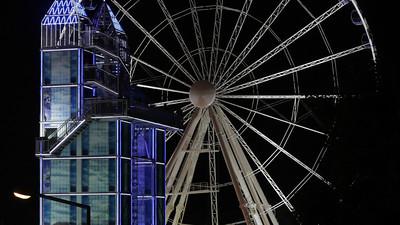 Big wheel at Parish Fair Nuremberg
