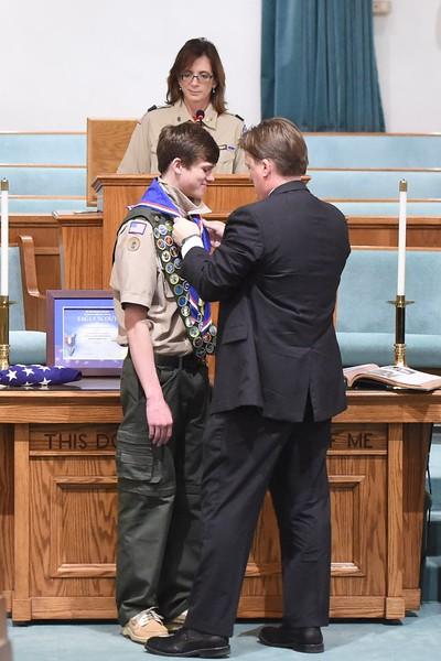 Parker Johnson Eagle Scout Court of Honor - 2017-03-26