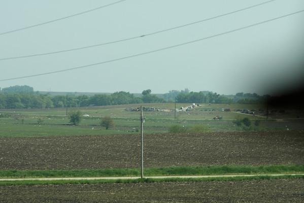 Parkersburg tornado damage