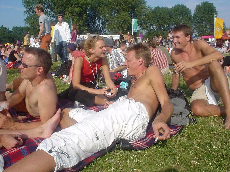 Sjoerd, Astrid, Arjen and Bas