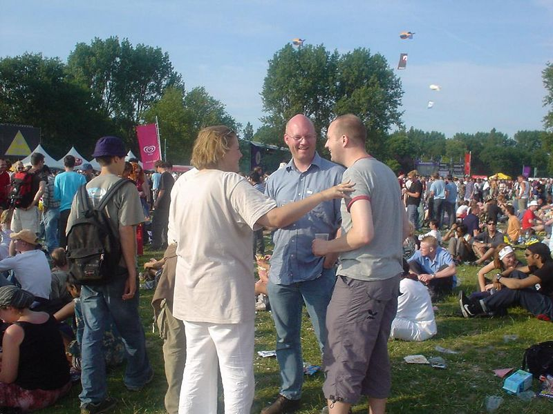 The van der Berg clan gathered around (with Carolien)