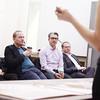Graduate Architecture Studio Final Presentation for BIG Studio with Daniel Kidd and Bjarke Ingels<br /> Held at Parsons School Of Design<br /> New York City, USA - 12.05.13<br /> Credit: J Grassi