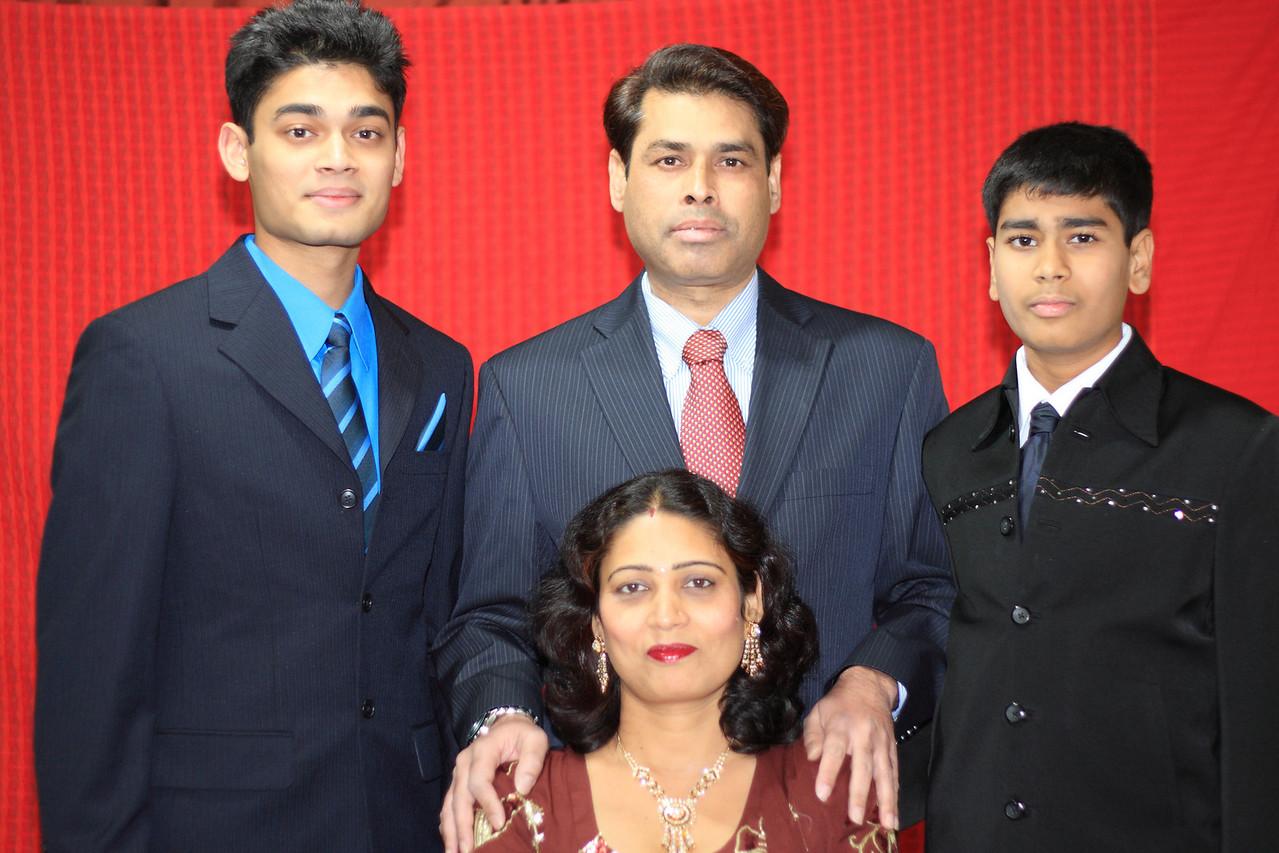 Verander Chawdary & Family