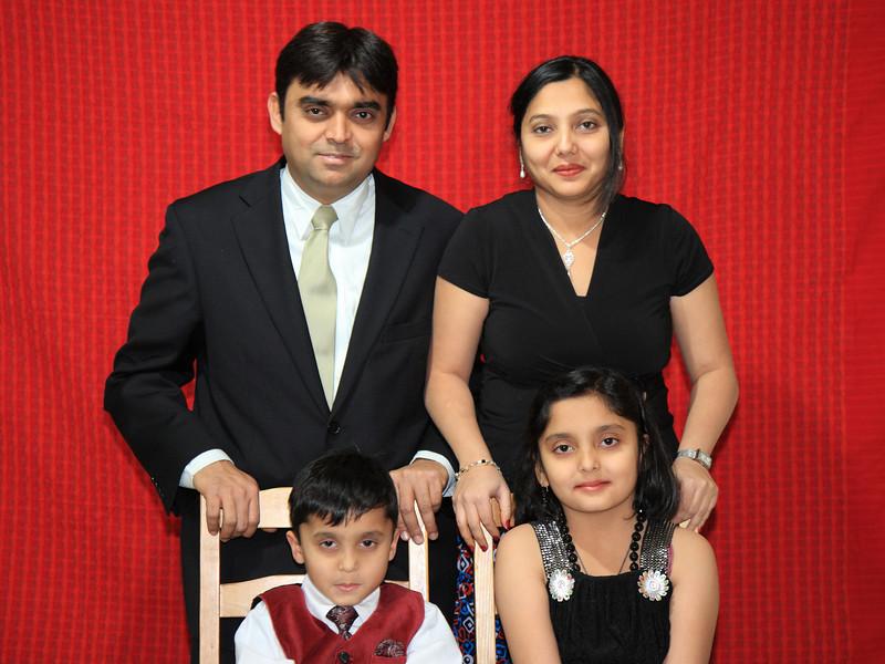 Ritesh Shukla & Family