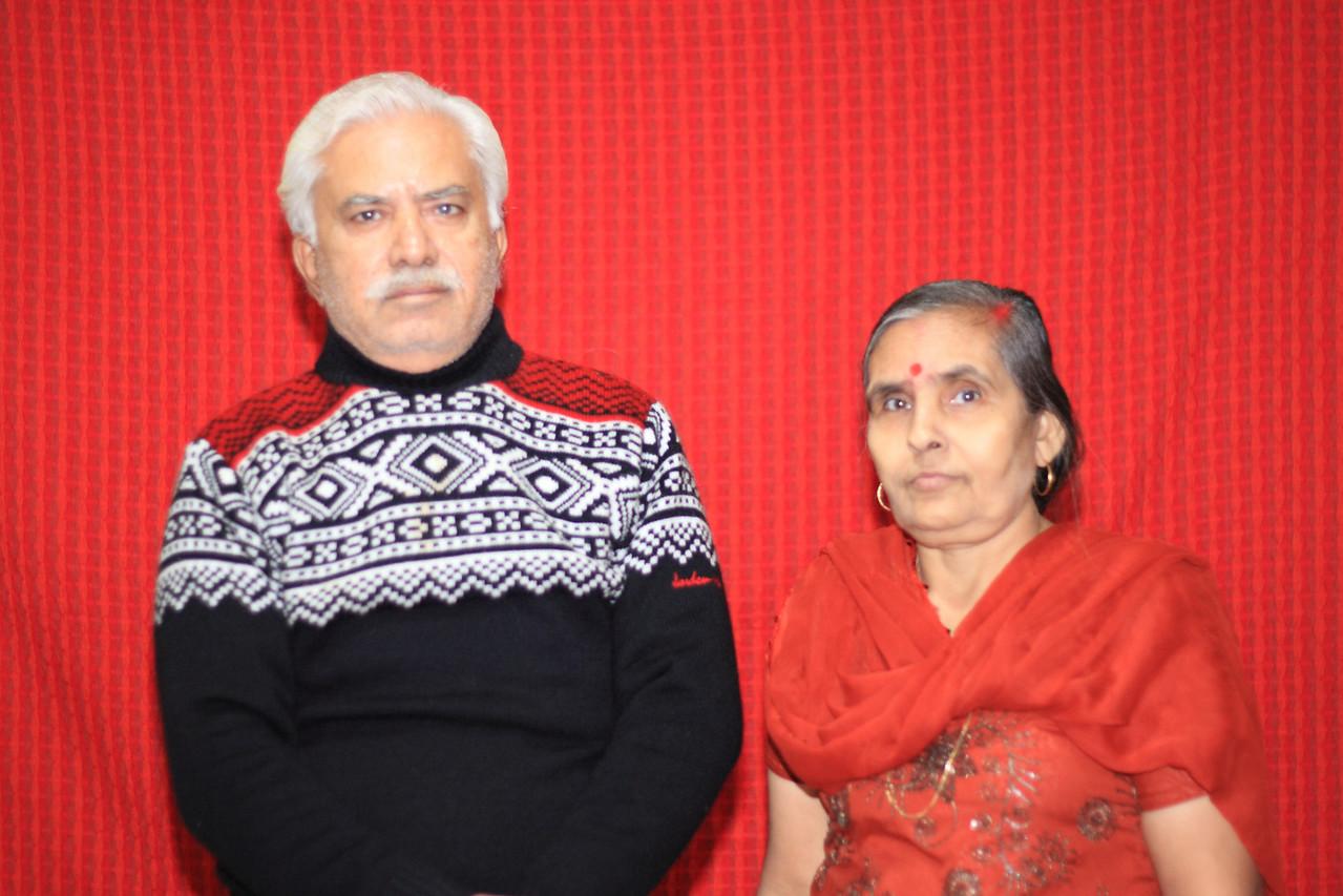 Kishor Ratnani's Parents