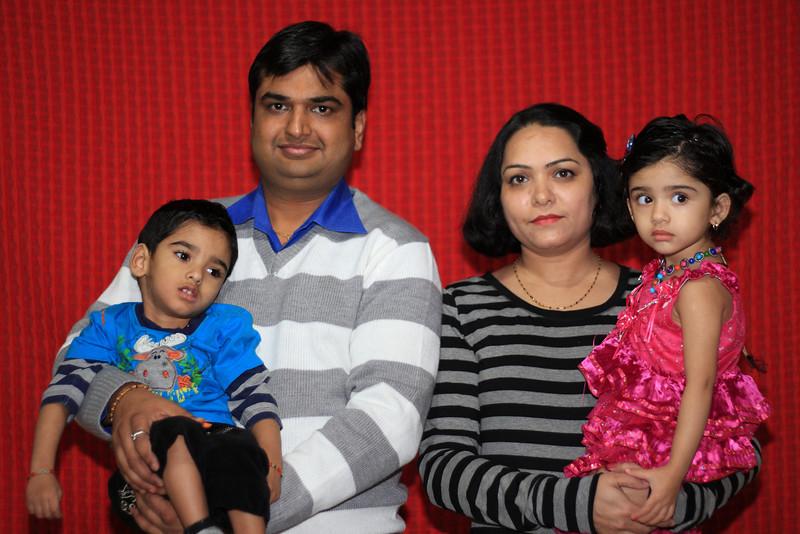Vikas Bhatt & Family