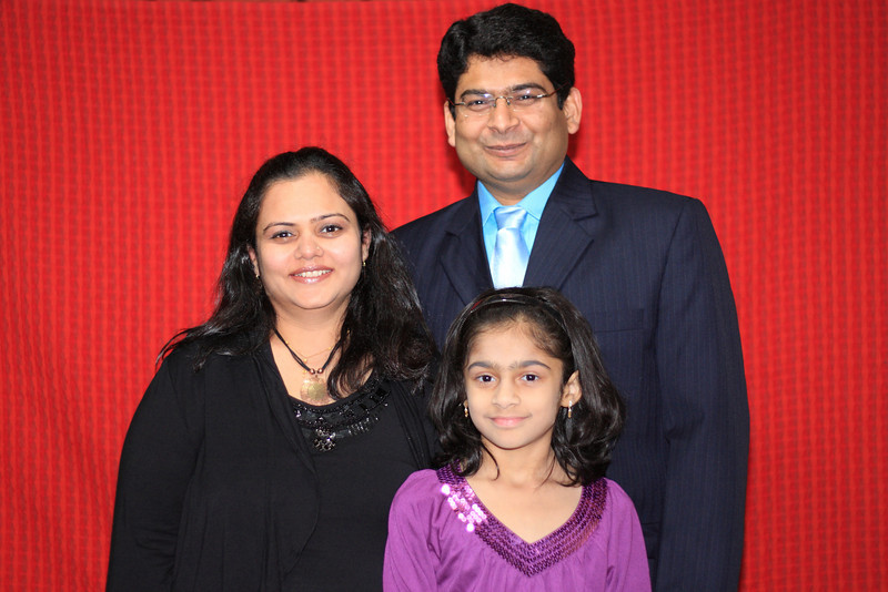 Hitesh Prajapati & Family