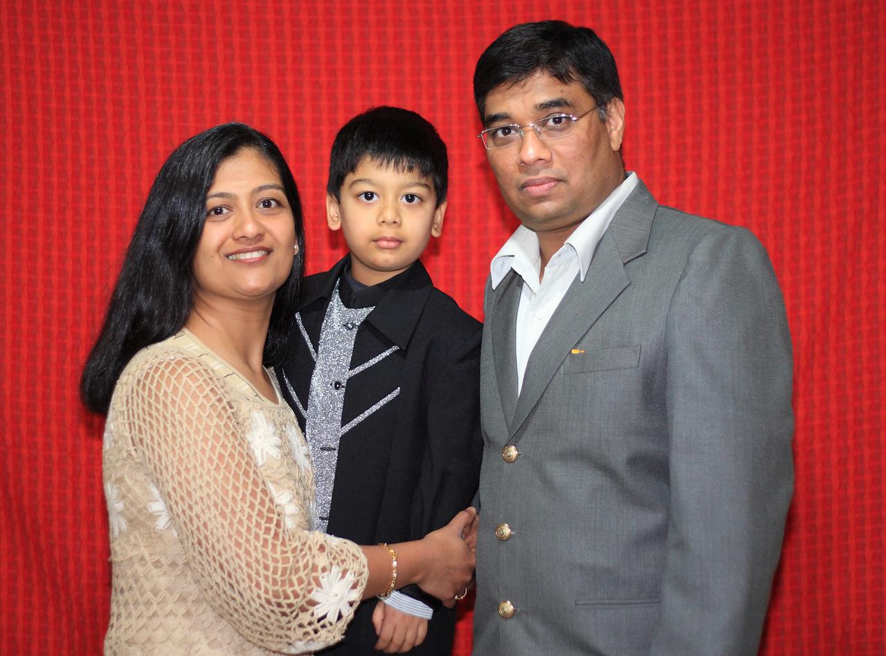 Udayan Shah & Family