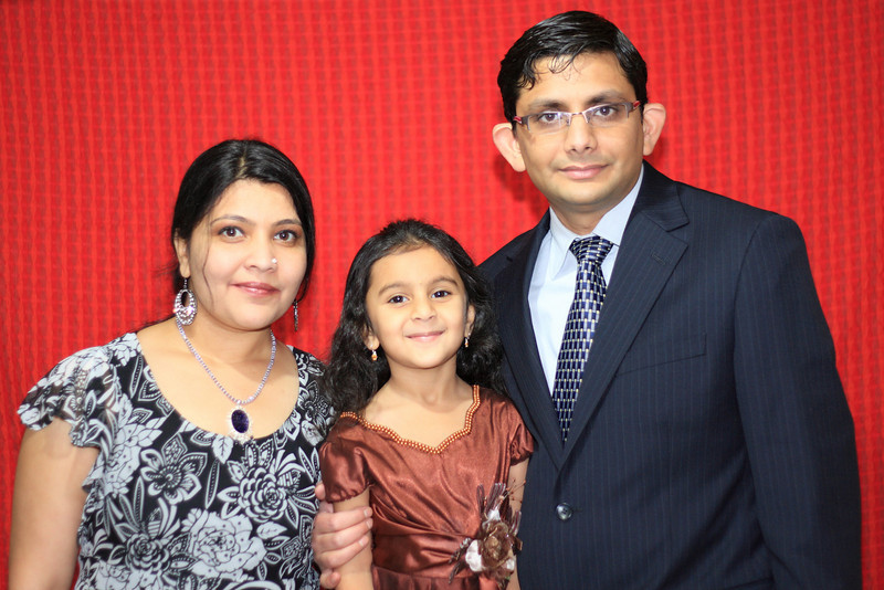 Tushar Rajyaguru & Family