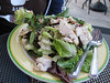 Dinner break at Doc Green's. Heidi had a seasonal harvest salad with grilled chicken. Fall fun with Heidi, 10/13/2012