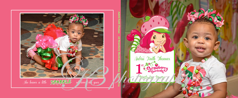 Custom Photo Book - 1st Birthday Party