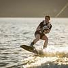 Big Bear Lake Sunset Wakeboarding-1