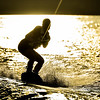 Big Bear Lake Sunset Wakeboarding-3