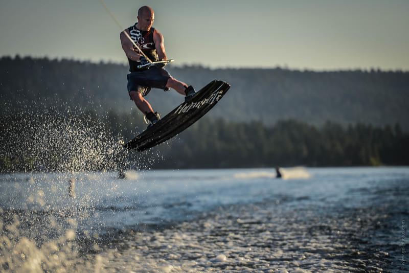 Big Bear Lake Wakeboarding Jump-3