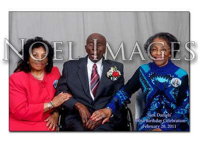 Sam Daniel's 100rd Birthday Celebration