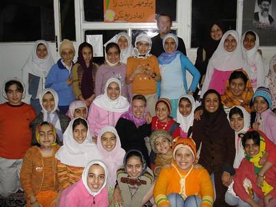 The girls at Mehr-e-Taban Bilingual School (www.mbs.ir)