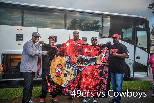 Cowboys v.s. 49ers Game