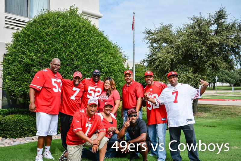 49ers v.s. Cowboys