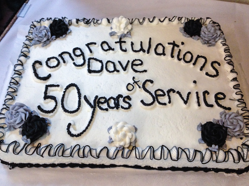Dave's Retirement Party