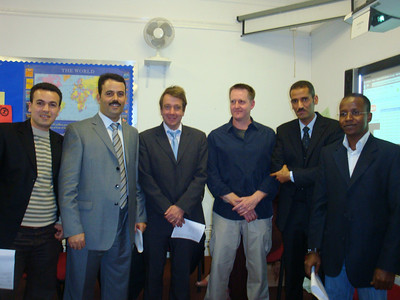 Emad, Hakim, Graham, Bill, Mahmood and Emad.
