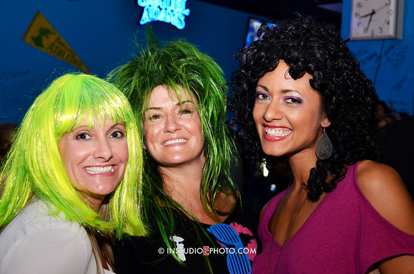 Heather Schafer 80's Bday at Old School Bar