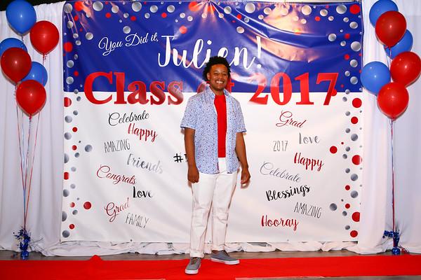 Julien's Graduation Party