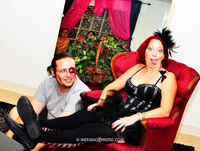 Paul Krisher & Candice Sullivan of LTEI Entertainment in the Kinky-Kitty studio.