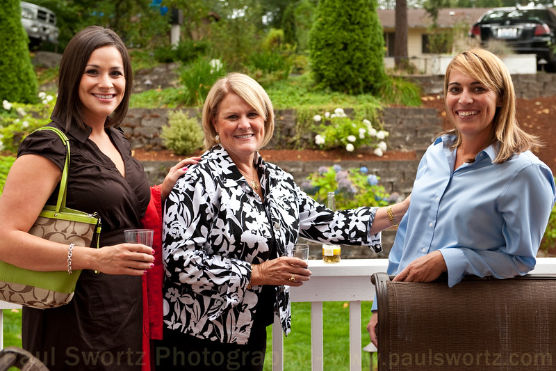 I had the pleasure of spending a couple of hours at the Kirkland home of my friends, Erik and Tina Knutson. A few shots from their party.