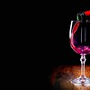 Glass Of Red Wine Wide Desktop Background