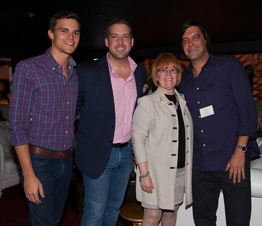 Brandon Bourque, James Hedlesten, JoAnn Klein & Stuart Rosenberg