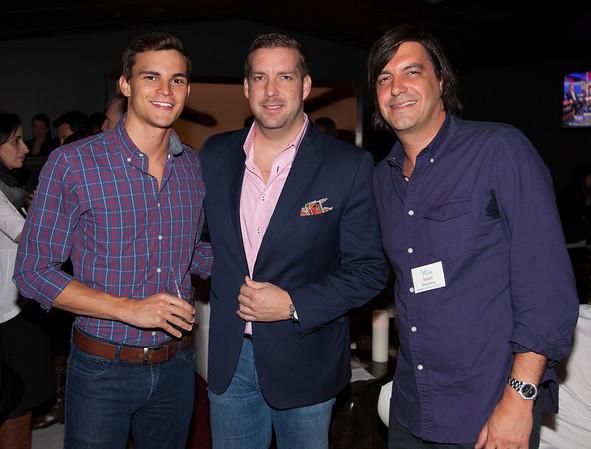 Brandon Bourque, James Hedlesten, Stuart Rosenberg