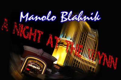 Party At Manolo Blahnik in Wynn Hotel & Casino Las Vegas