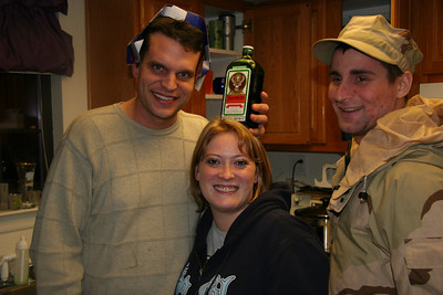 Me and Jagermeister and Emma and Jake