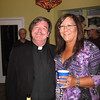 The Rev Dr Otis and Julie. I say, Reverend, you have a ruddy glow about you! Have you been imbibing, or do you just have your hand resting on Julie's sensuously round butt? Shiner beer is proof that, in spite of Rick Perry, God loves Texans and wants us to be happy.