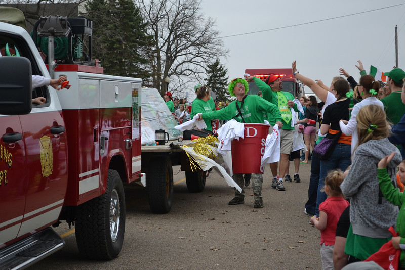 Cold Spring Fire Department<br /> Dressed up as red solo cups to promote Firefest 2012.