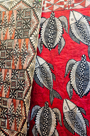 Siapo - traditional samoan cloth made from bark Pasifika Western Springs