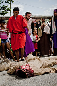 Every Easter, the streets of Benque in the Cayo District, comes alive with street theater as locals perform the Passion of Christ.