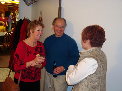 Chris Yee, Mr. Yee, Pam Owens (L to R)