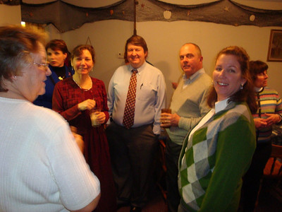 Frieda Dale, Elaine Bailey, Mary Russell, Mark Bailey, Mike Russell, Claire Hill, Cindy Marquardt (L to R)
