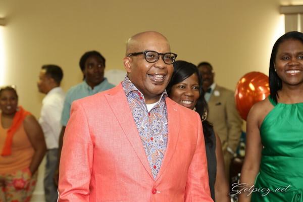 Pastor Miles Surprise Party 6-29-2014